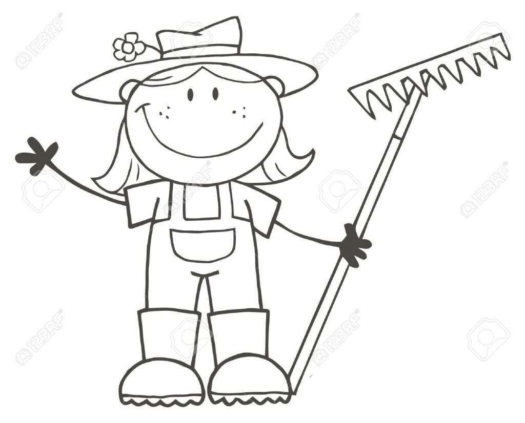 1024x826 Country Girl Coloring Pages