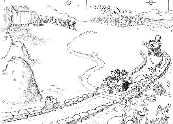 600x430 Country Coloring Pages