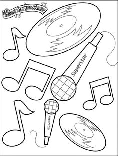 Country Singer Coloring Pages