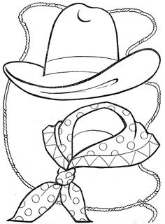 236x320 Printable Cowgirl Coloring Pages For Girls