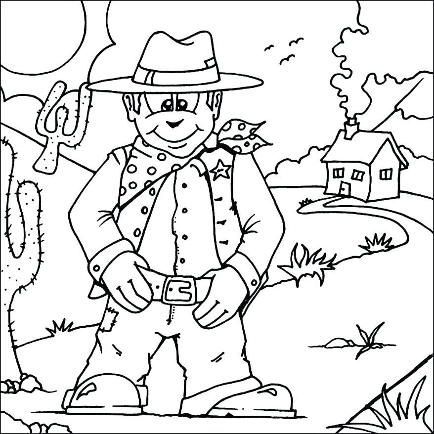 878x878 Wild West Coloring Pages Western Coloring Pages As Well As Wild