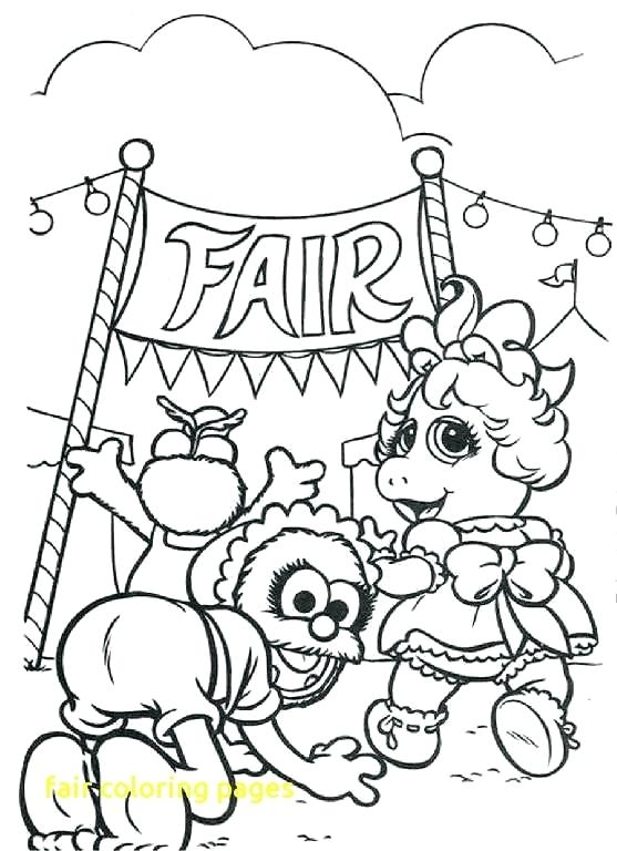 557x768 County Fair Coloring Pages Fair Coloring Pages With County Fair