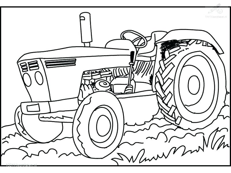 800x600 County Fair Coloring Pages Tractor Coloring Pages For Kids Free