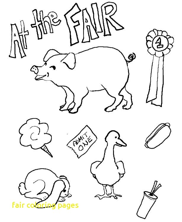 615x750 Fair Coloring Pages With County Fair Coloring Page