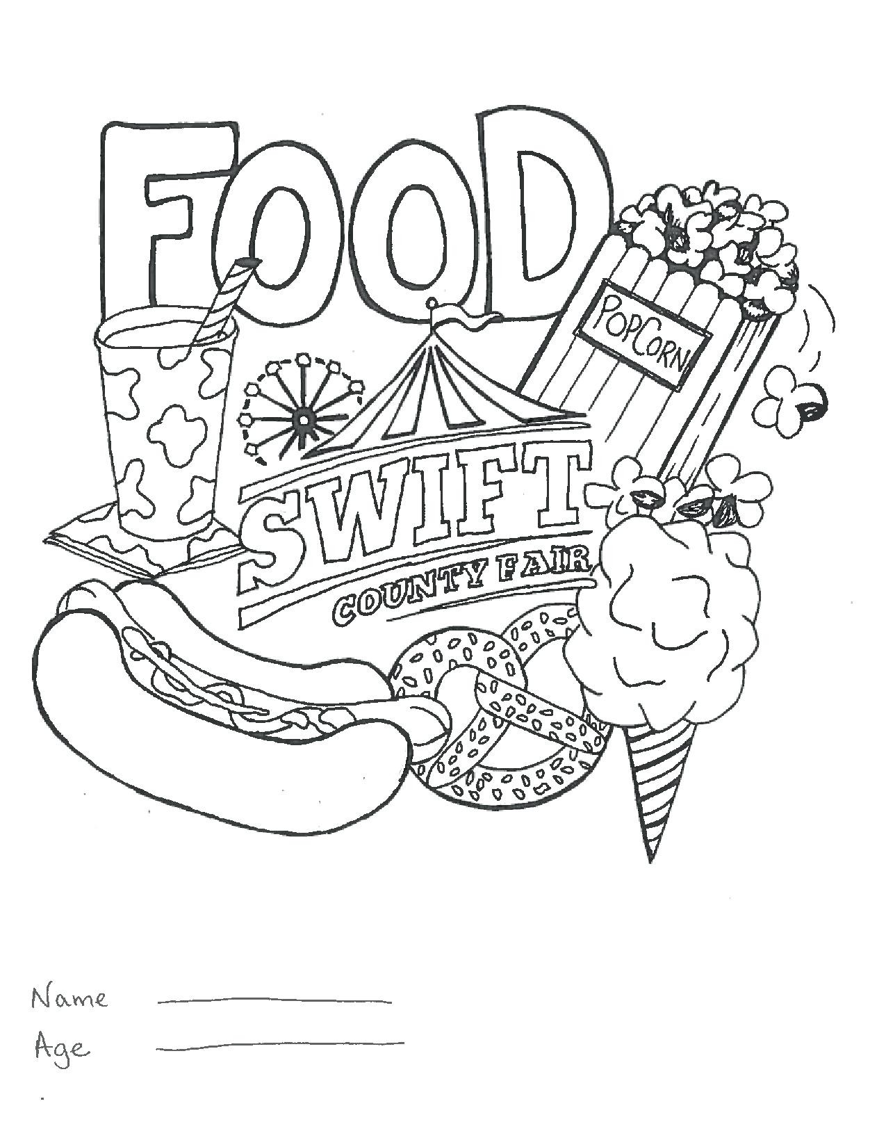 1275x1650 Soar County Fair Coloring Pages Lovely For Year Olds Nwcider