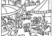 220x150 County Fair Coloring Pages