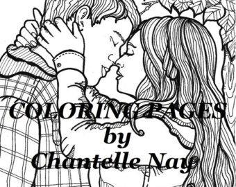 340x270 Indian Girl Coloring Page Adult Coloring Book Page Printable
