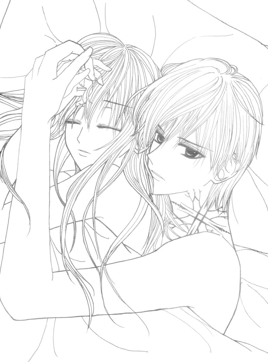 889x1201 Perfect Anime Couple Coloring Pages In Gallery Ideas