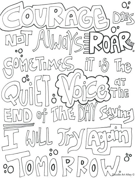 463x600 Elegant Growth Mindset Coloring Pages Or Free Printable Courage