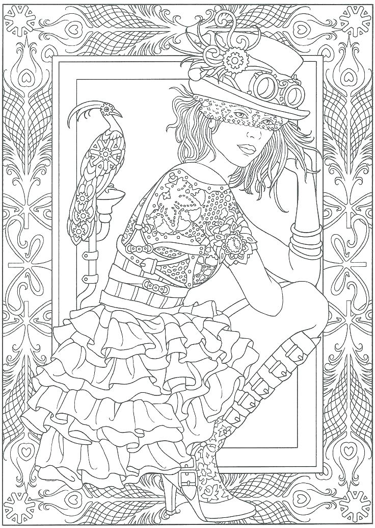 736x1035 A Court Of Thorns And Roses Coloring Book Pages G Pages Online