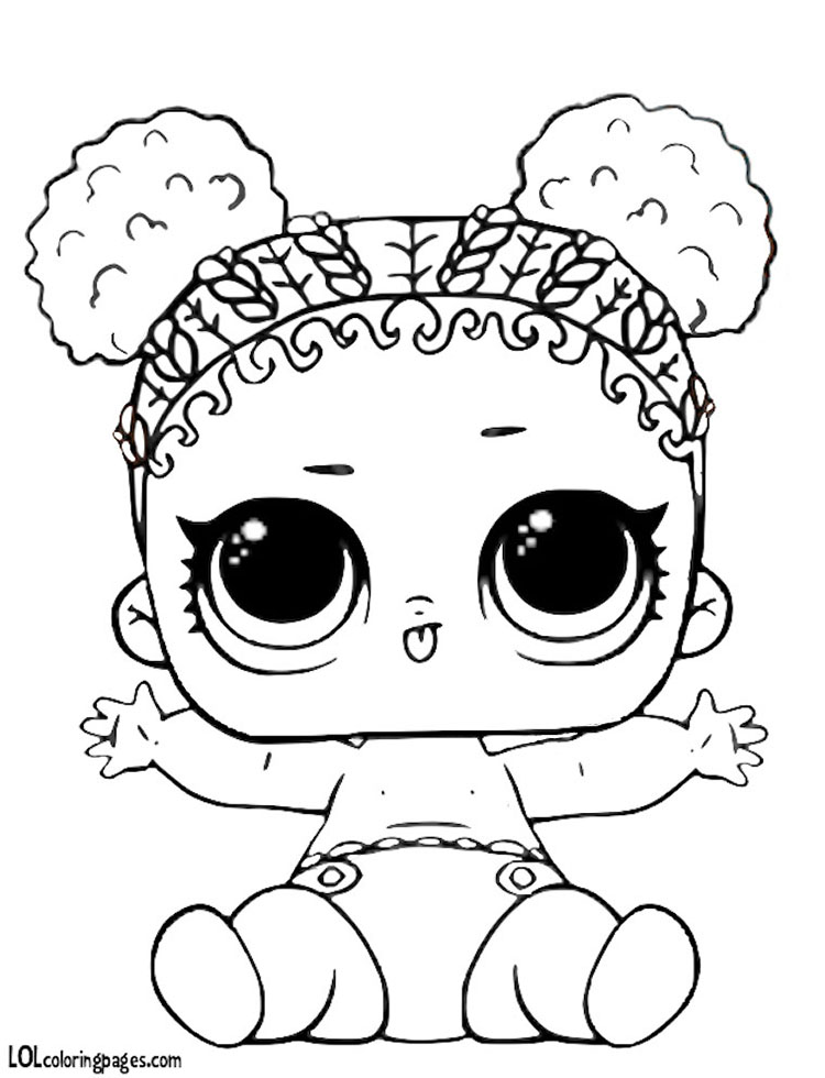 750x980 Lil Court Champ Coloring Page Lol Surprise Doll Coloring Pages