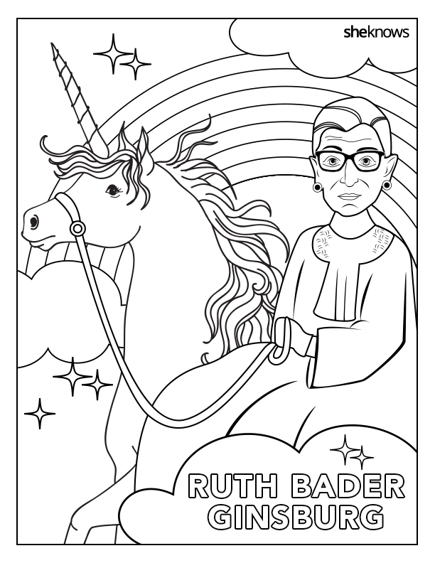 612x792 The Notorious Rbg Coloring Book Of Our Feminist Dreams Is Here