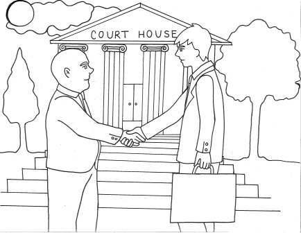 434x336 Courthouse Patterns Coloring Pages