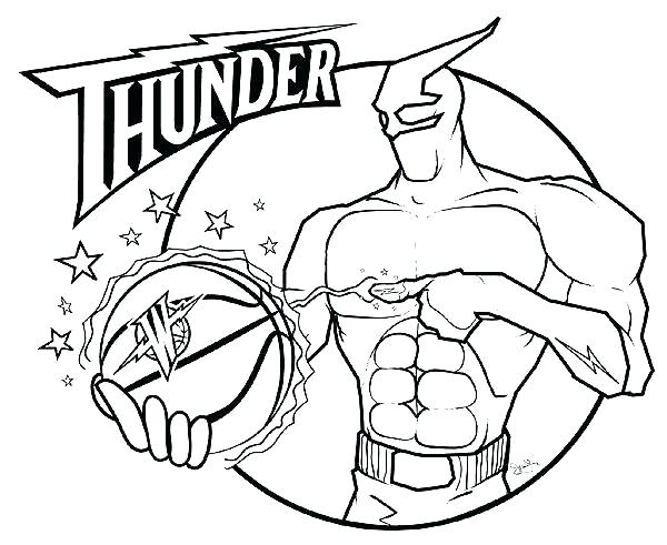 600x491 Basketball Court Coloring Page