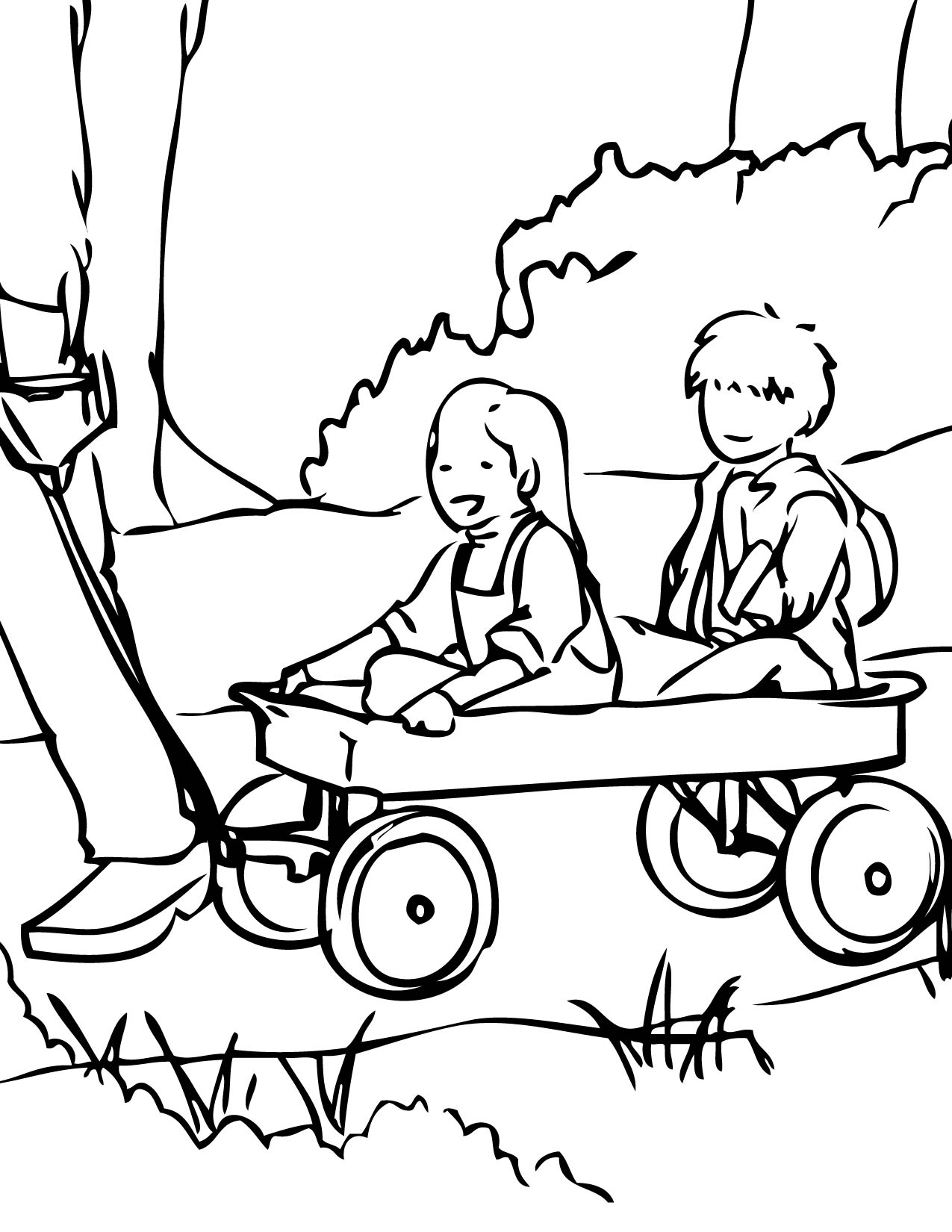 1275x1650 Unique Chuck Wagon Coloring Page Miracle Covered