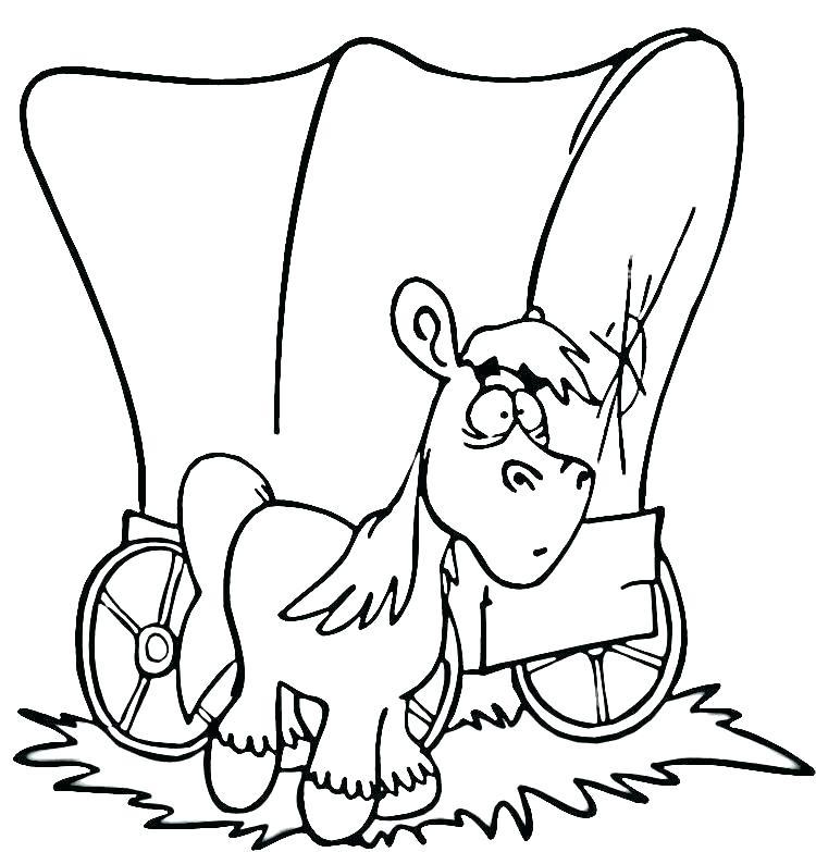 750x783 Coloring Page Wagon Coloring Page Wagon Covered Wagon Coloring