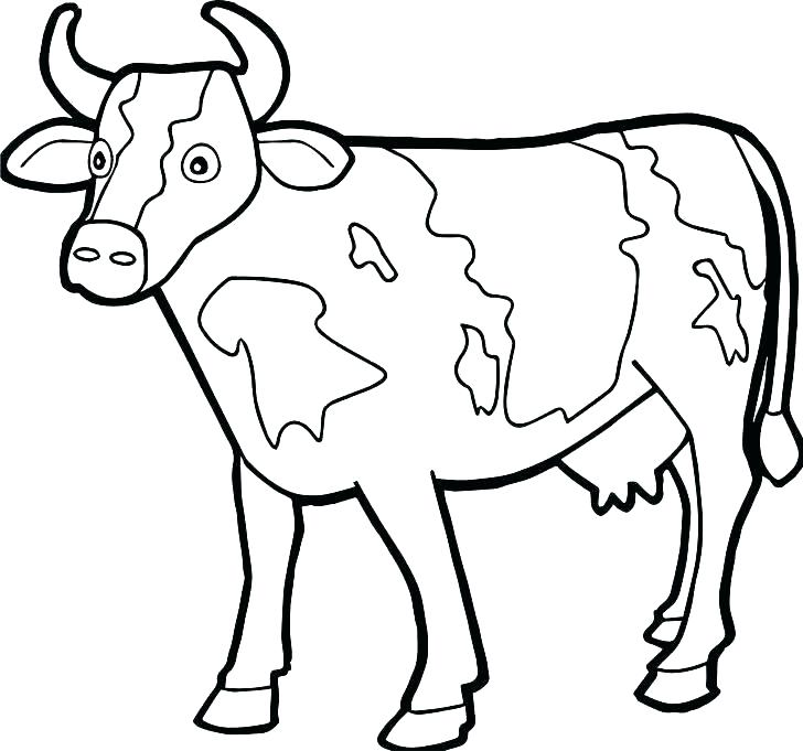 728x681 Pics Of Coloring Pages Coloring Cow Coloring Pages Golden Calf