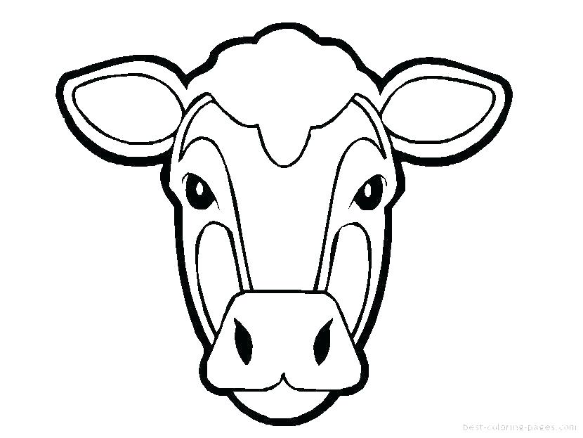 830x623 Cows Coloring Pages Cow Coloring Pages With Simply Simple Page