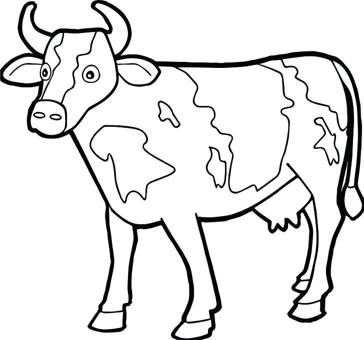 728x681 Golden Calf Coloring Page Golden Calf Coloring Page Farm Animal