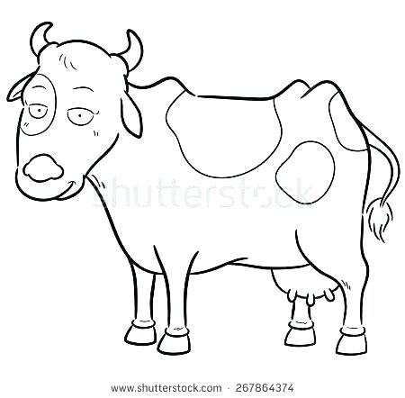 450x442 Cow Coloring Book Printable Coloring Pages For Cow Coloring Book