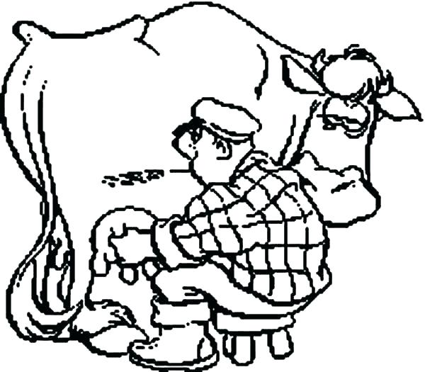 600x525 Coloring Pages Cow Cow Coloring Book Cow Coloring Book Cow