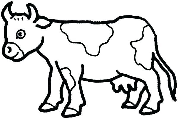 600x402 Cow Coloring Page Milking Cow Milking Cow Coloring Pages Milking