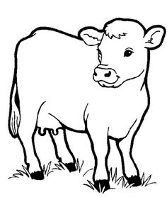 236x278 Free Printable Cow Coloring Pages For Kids Cow, Free Printable