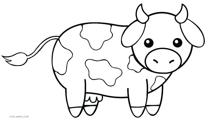 700x407 Printable Coloring Pages Of Cows