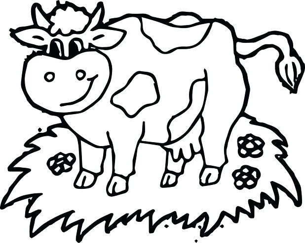 618x494 Coloring Pages Cow Cool And Opulent Cow Coloring Pages Cow