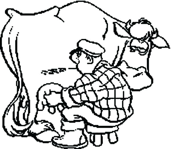 600x525 Coloring Picture Of Cow Cow Printable Coloring Pages Coloring