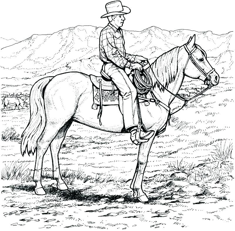 800x788 Horse Coloring Book Pictures Kids Coloring Western Coloring Pages