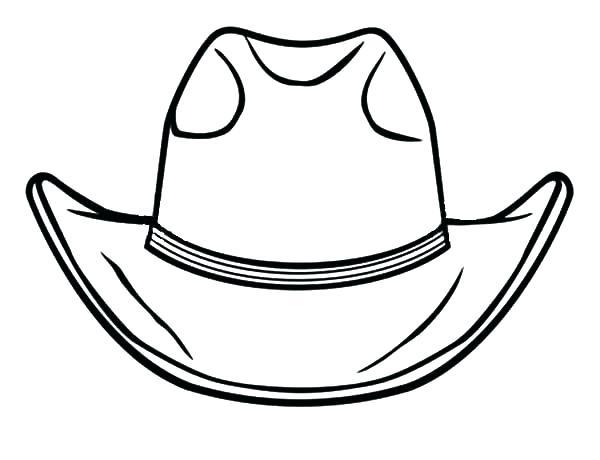 600x460 Cowboy Boots Coloring Pages Cowboy Hat Coloring Pages Best Cowboy