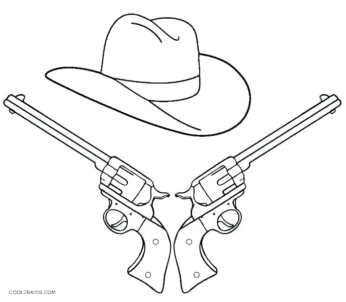 688x600 Cowboy Coloring Pages Printable Cowboy Boot Coloring Page Also