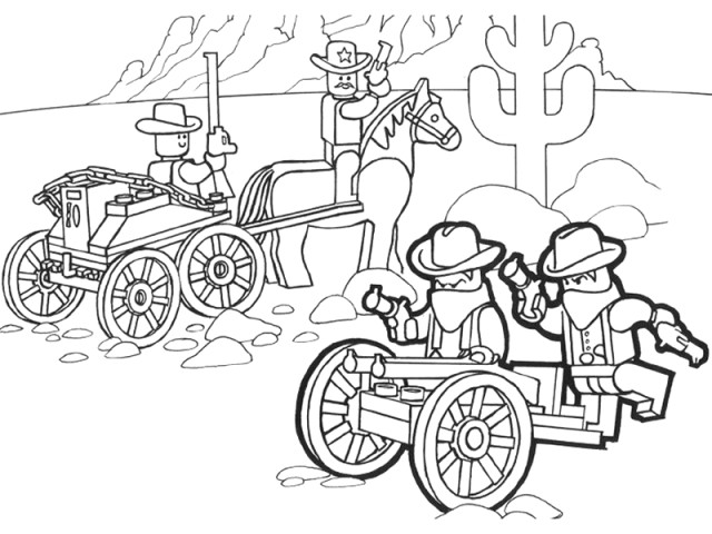 640x480 Lego Cowboy Coloring Pages Transformers Optimus Prime Coloring