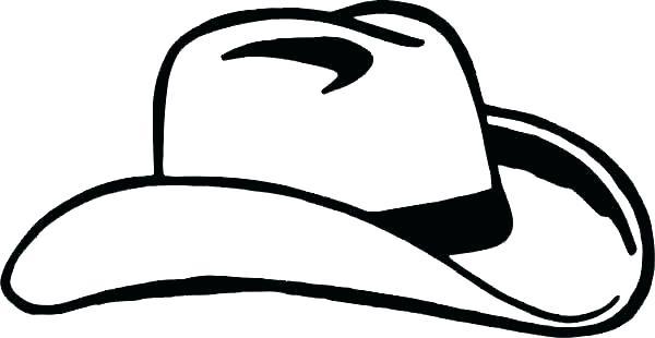 600x310 Cowboy Hat Coloring Page Cowboy Hat Coloring Page Cowboy Hat