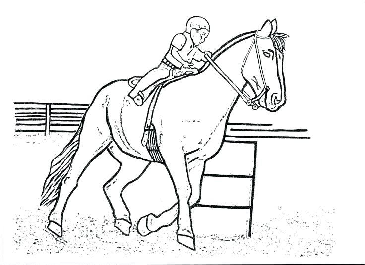 736x535 Rodeo Coloring Pages Rodeo Coloring Pages Barrel Racing Horse