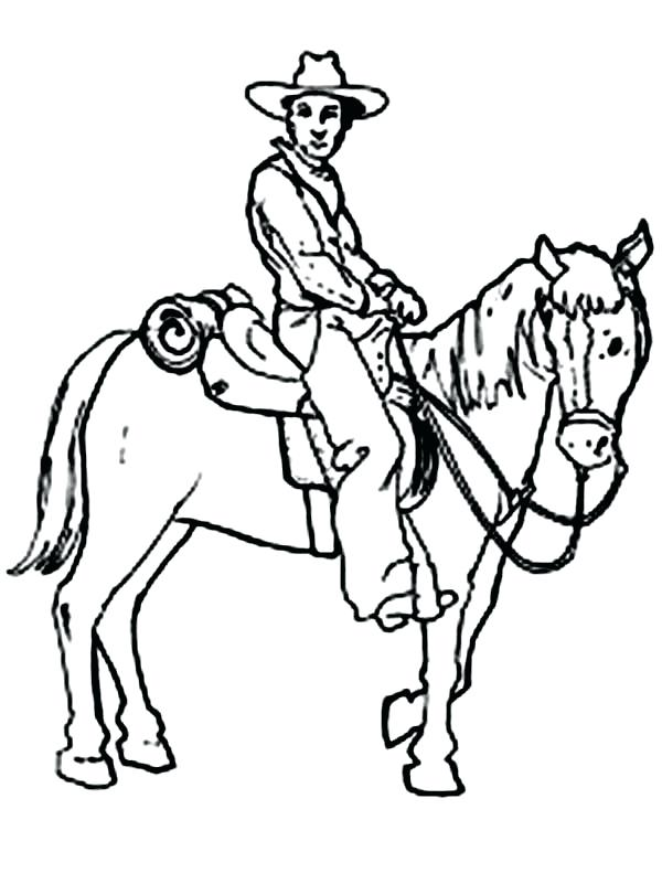 600x801 Cowboy Coloring Pages Cowboy Coloring Pages Cowboys Coloring Pages