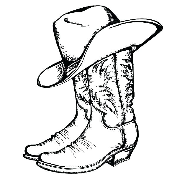 600x642 Cowboy Coloring Page Cowboys Coloring Pages With Cowboys Coloring