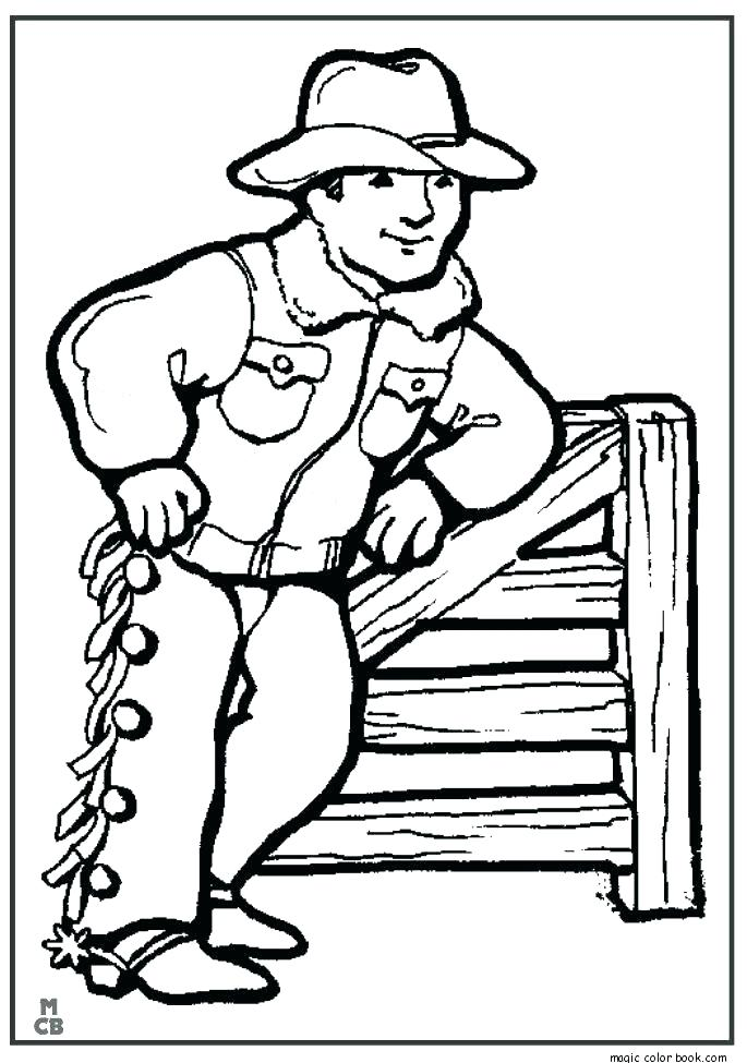 685x975 Cowboy Coloring Pages Printable Cowboy Coloring Books And Cowboy