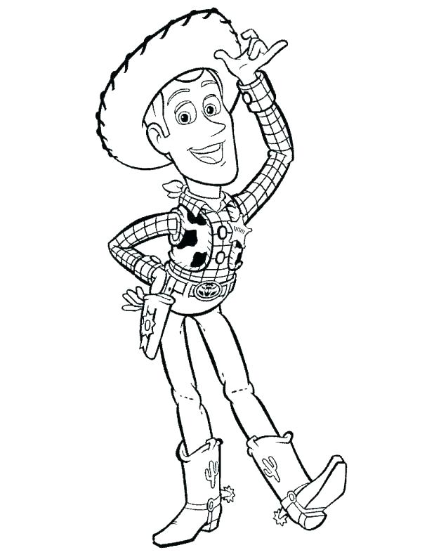 618x793 Cowboy Coloring Pages Printable Printable Cowboy Coloring Pages