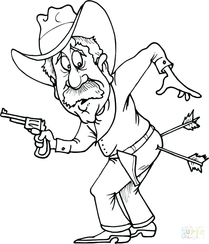 728x849 Cowboys Coloring Pages Cowboy Coloring Pages Sheets Cowboys Page