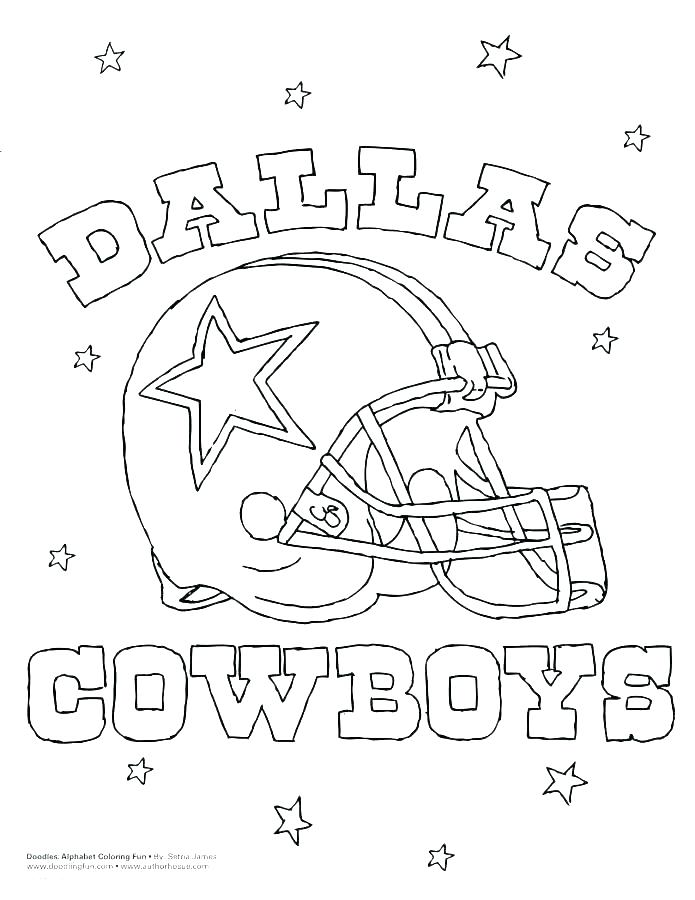 695x900 Dallas Cowboy Coloring Pages