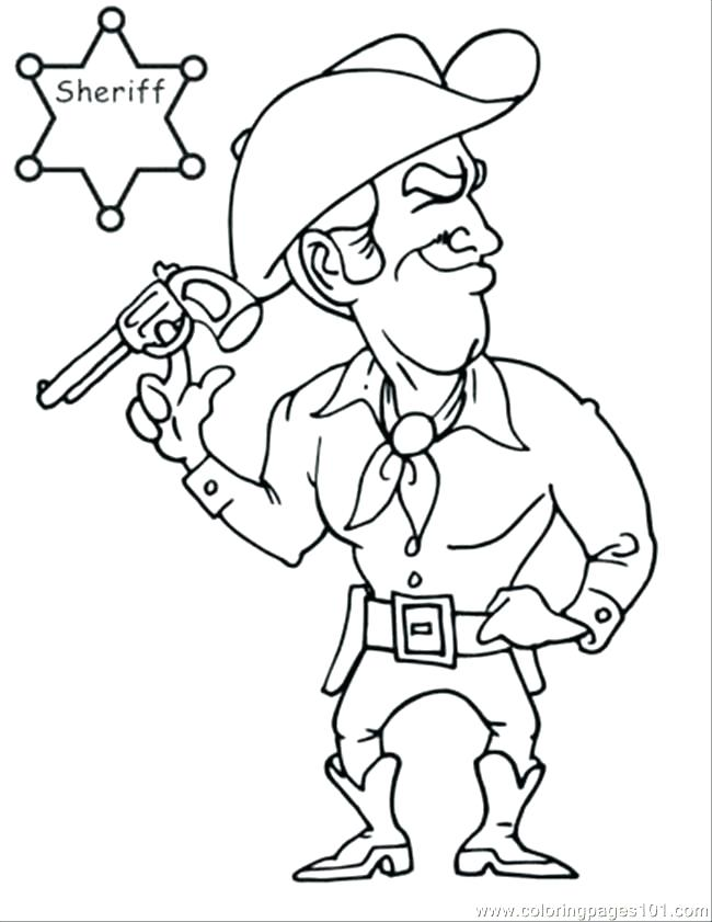650x841 Cowboy Coloring Page Awesome Cowboy Coloring Pages Free Image Book