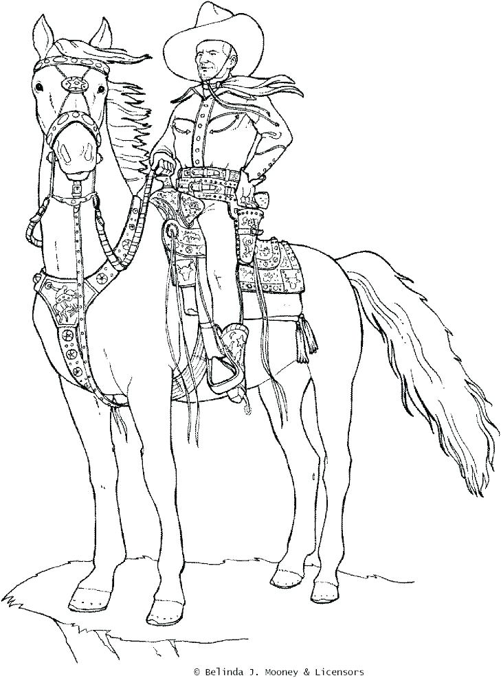 729x987 Cowboy Coloring Page Free Printables Planner Tumblr Cowboy