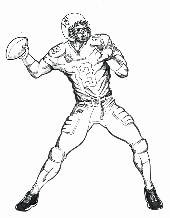 550x703 Cowboys Football Player Coloring Pages Sheets Printable Me Nfl Nfl