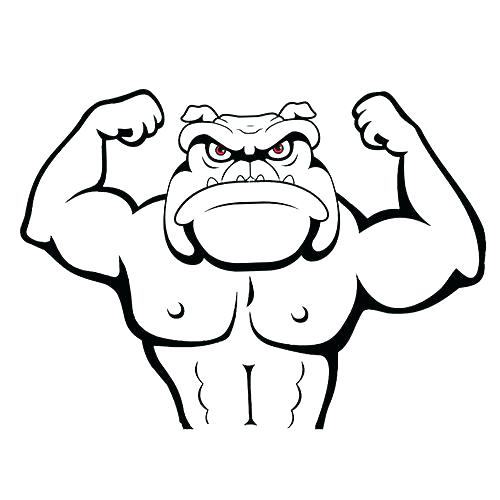 500x500 Underdog Coloring Pages