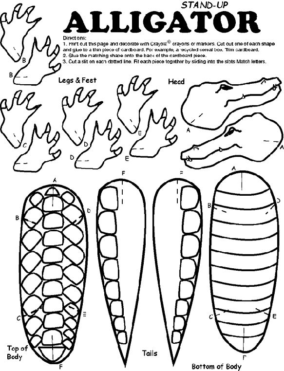 Crayola Animal Coloring Pages