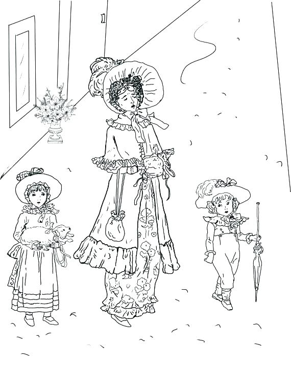 570x713 Free Vintage Coloring Pages Vintage Coloring Pages Great Vintage
