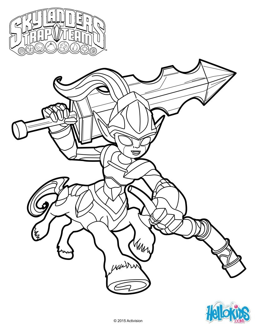 820x1060 Skylanders Crayola Color Alive Action Coloring Pages Unboxing Toy