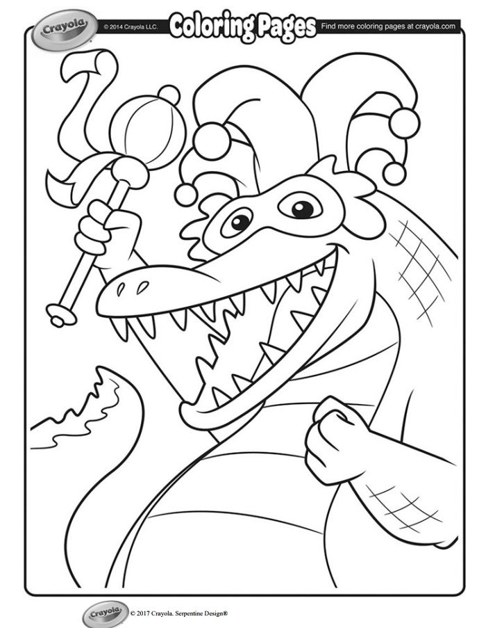 Crayola Coloring Pages For Kids Printable at GetDrawings ...